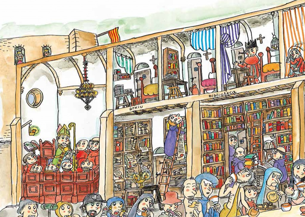 La Canonja, il·lustrada per Pilarín Bayés.